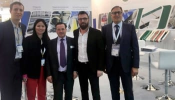 Lindis attends the Hannover Messe 2019